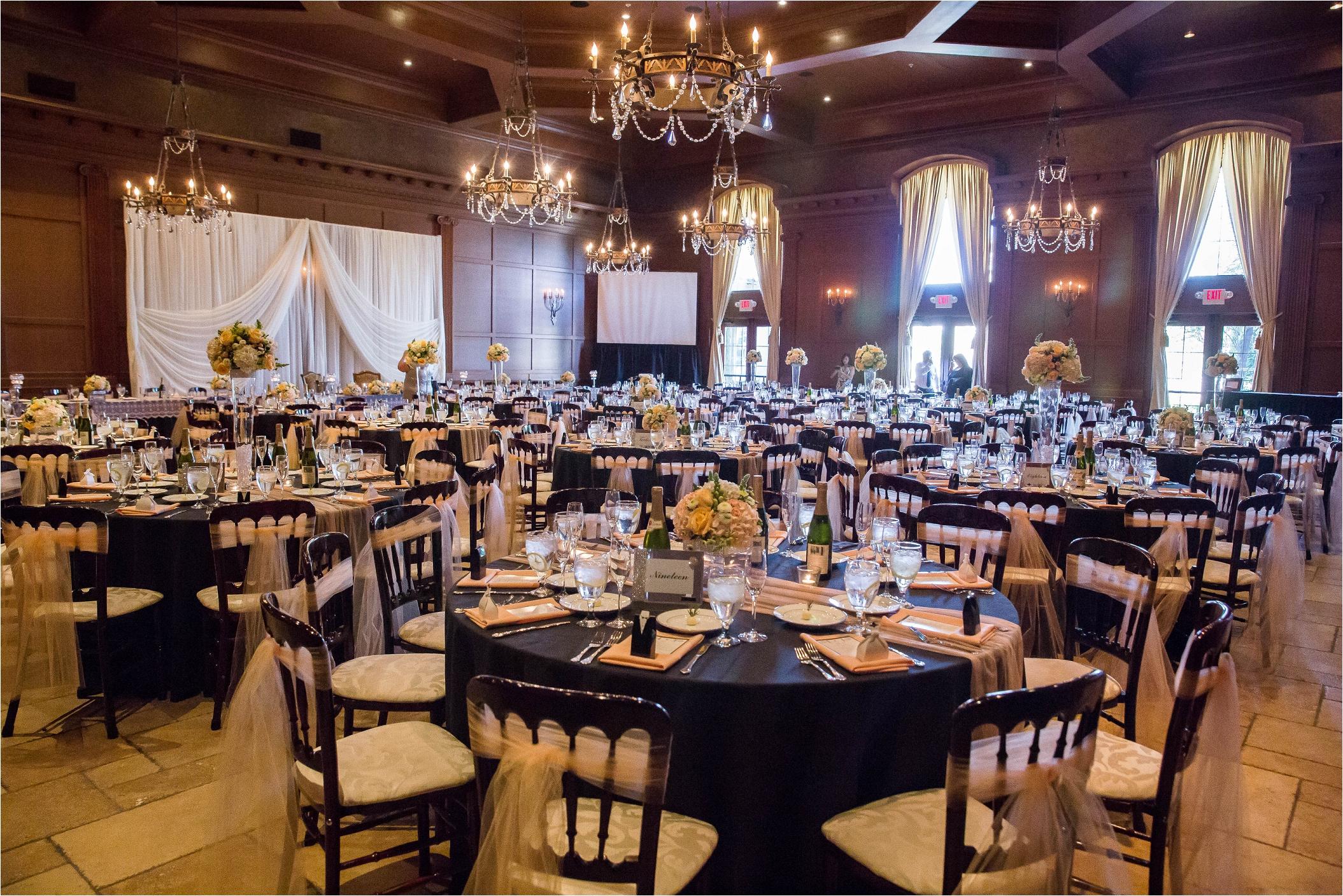 Tiered head table wedding