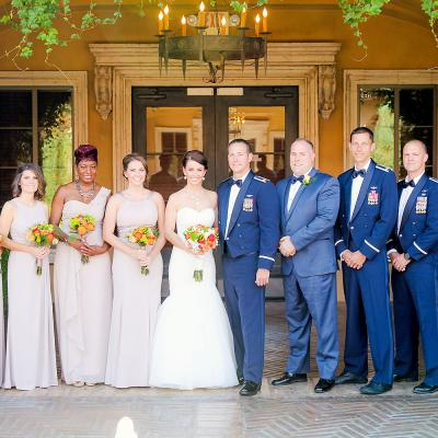 Full Bridal Party Wedding Picture