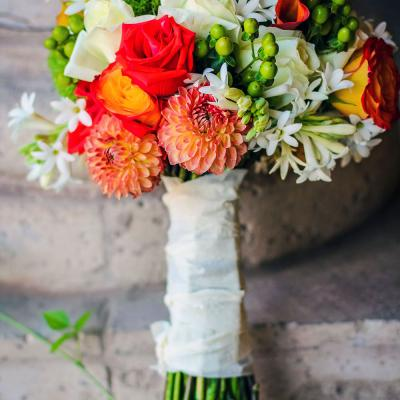 Bright Summer Bridal Bouquet