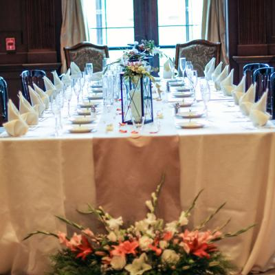 Kings Table Wedding Recption