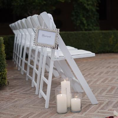 Reserved Family Seating for Courtyard Ceremony