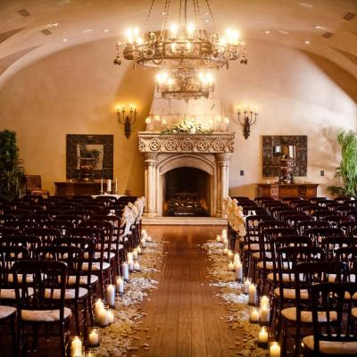 Arizona Summer Indoor Wedding Ceremony